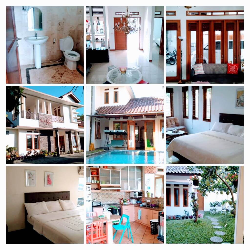 Villa untuk keluarga liburan