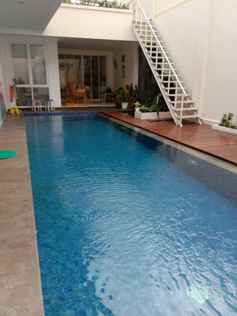 Villa Fasilitas Kolam renang di Lembang
