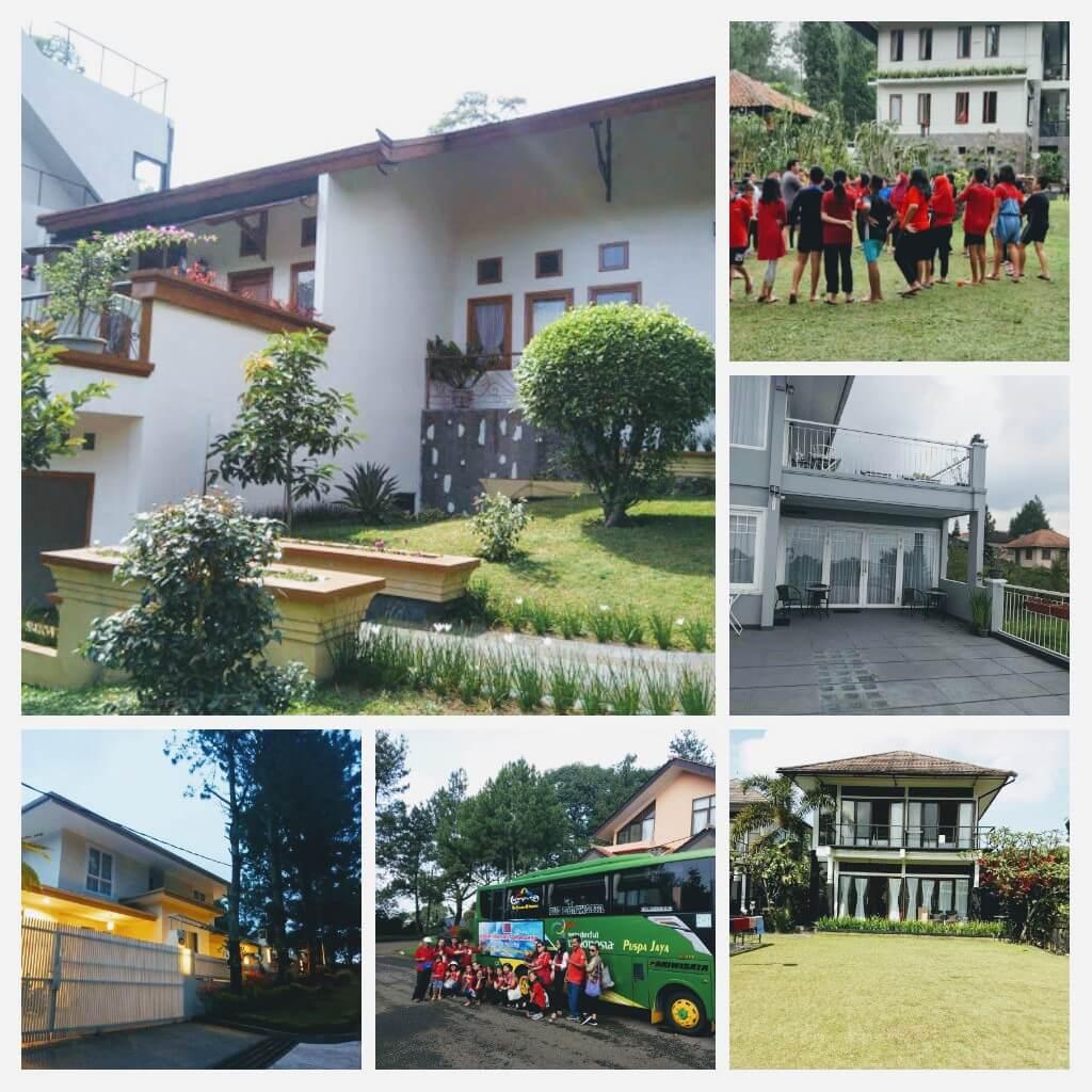 Sewa Villa Murah kampung daun