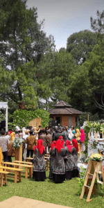 Sewa Villa Kampung daun untuk 25 sd 30 orang